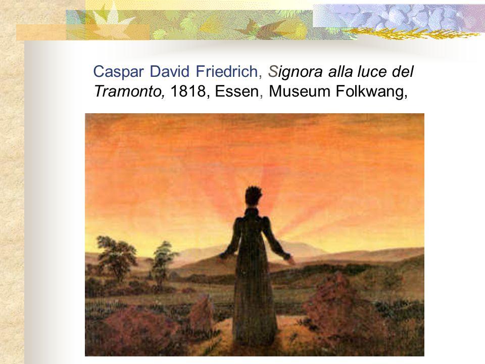 Caspar David Friedrich, Signora alla luce del