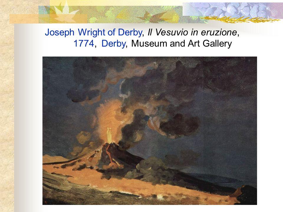 Joseph Wright of Derby, Il Vesuvio in eruzione,