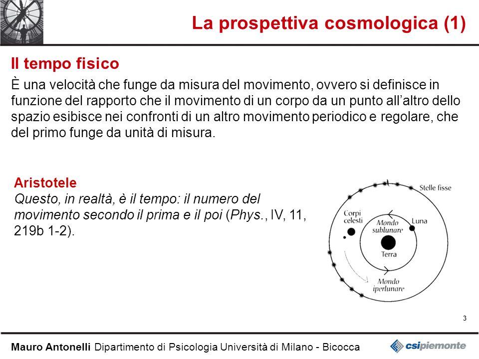 La prospettiva cosmologica (1)