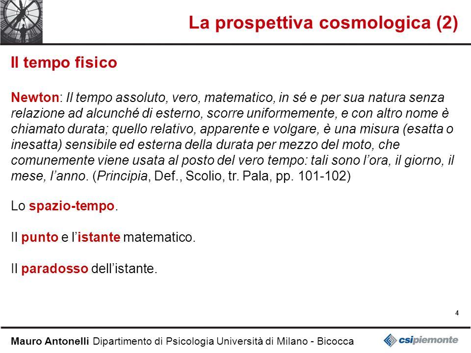 La prospettiva cosmologica (2)