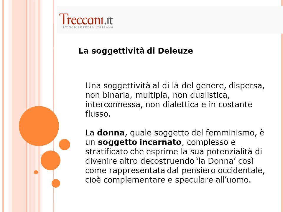La soggettività di Deleuze