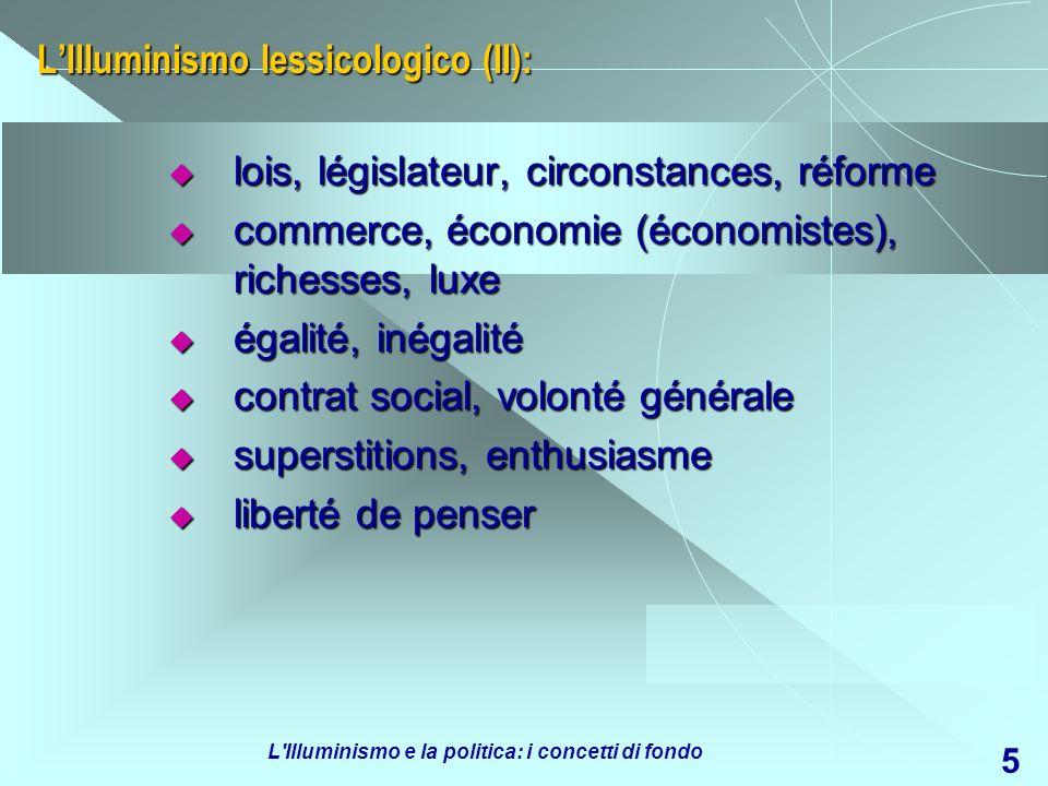 L'Illuminismo lessicologico (II):