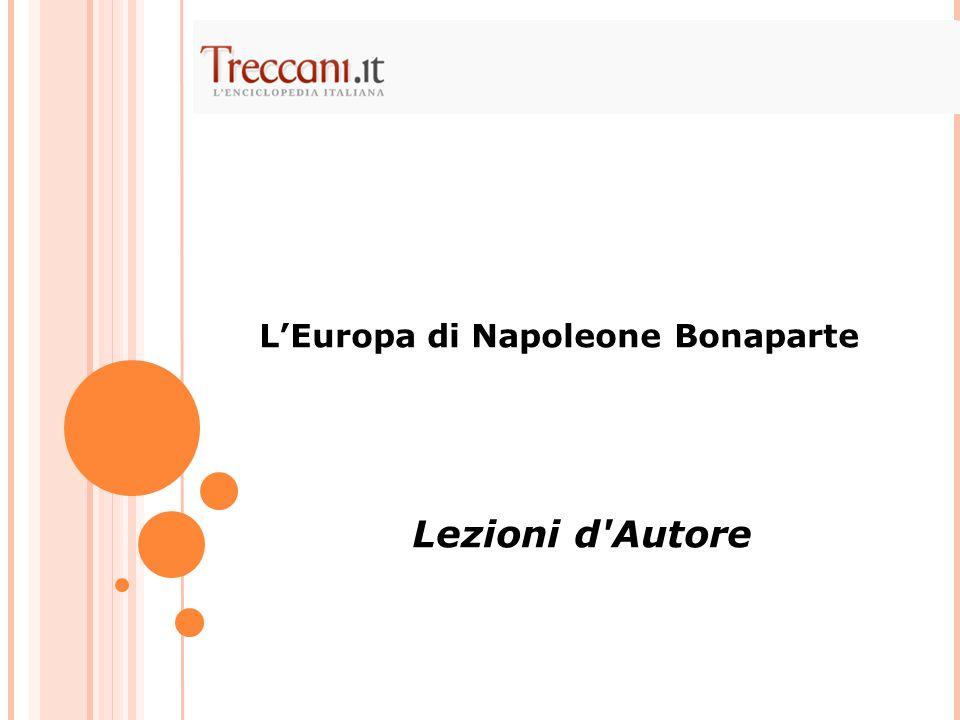 L'Europa di Napoleone Bonaparte