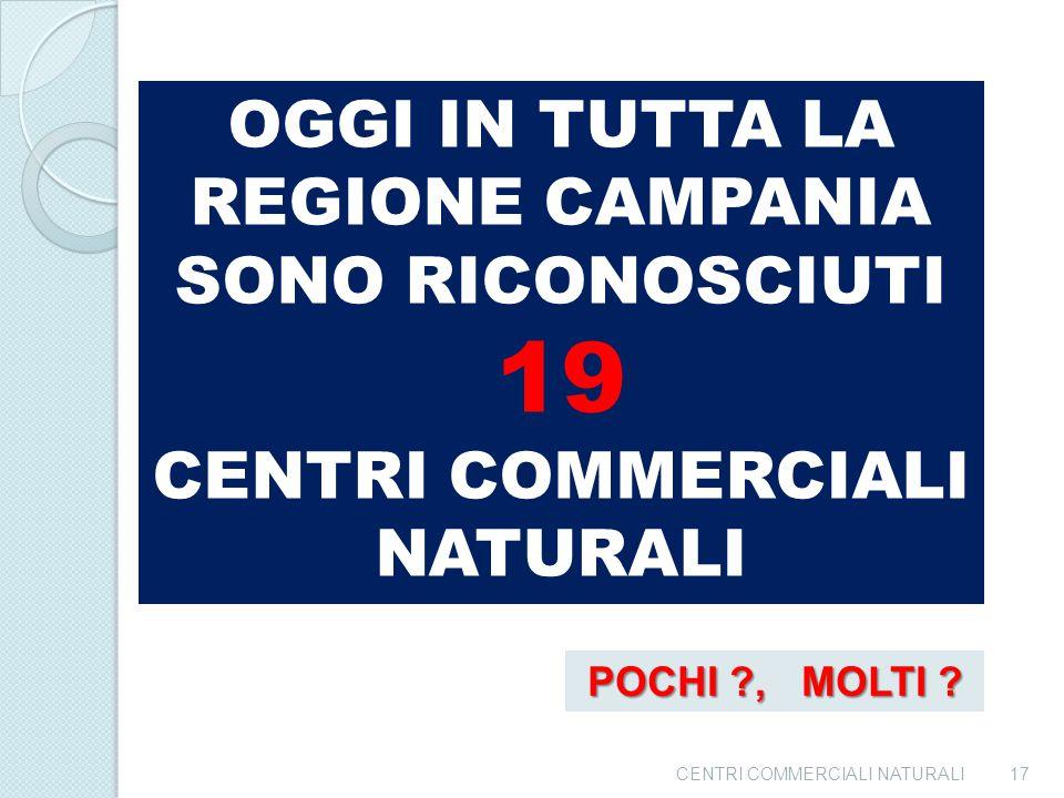 19 OGGI IN TUTTA LA REGIONE CAMPANIA SONO RICONOSCIUTI