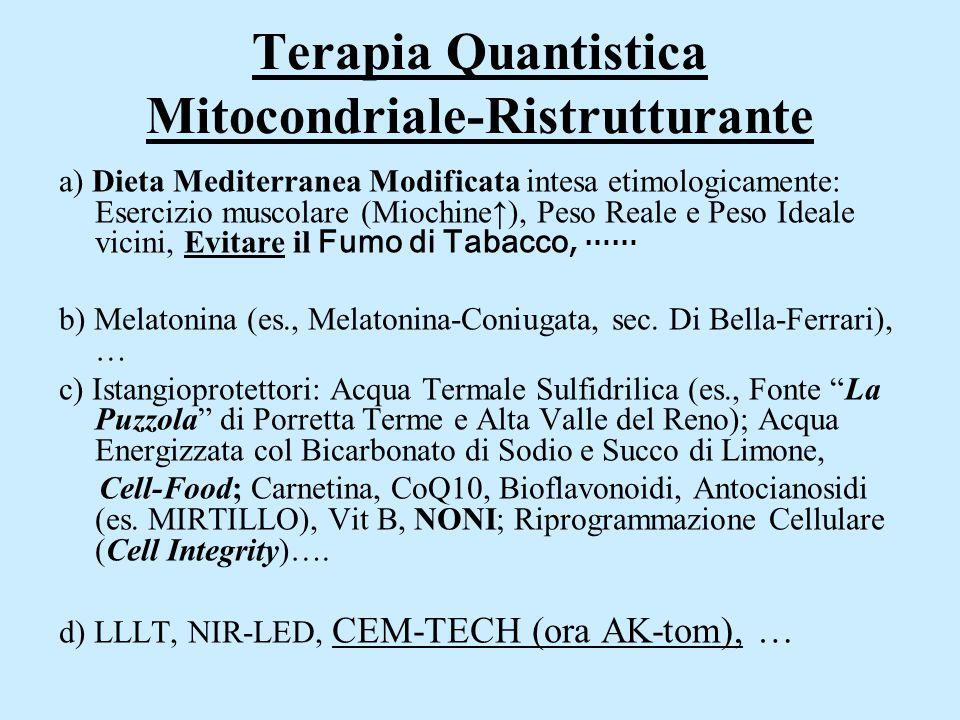 Terapia Quantistica Mitocondriale-Ristrutturante