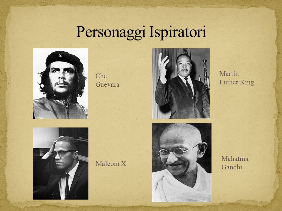 Personaggi Ispiratori