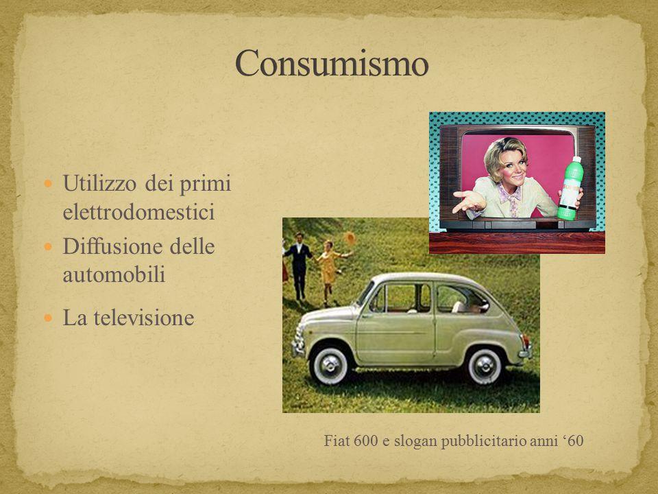Fiat 600 e slogan pubblicitario anni '60