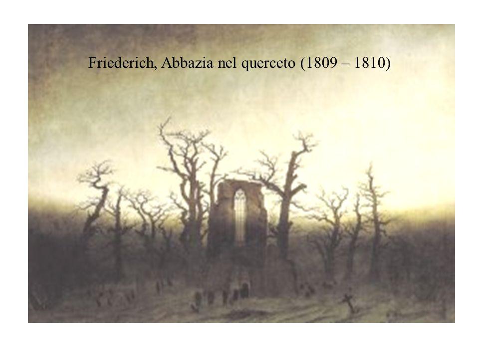 Friederich, Abbazia nel querceto (1809 – 1810)
