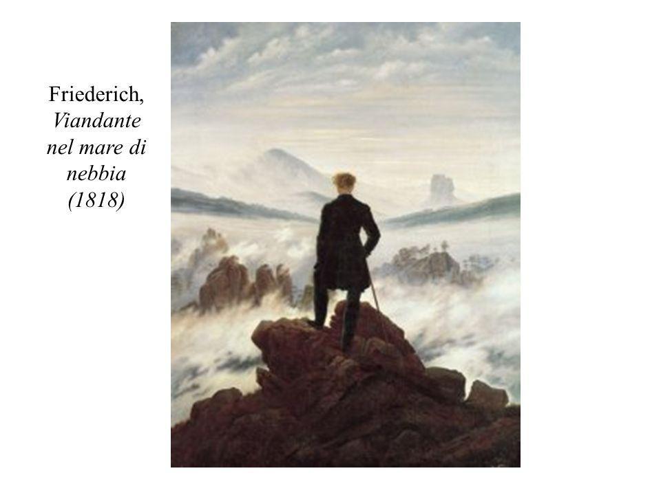 Friederich, Viandante nel mare di nebbia (1818)