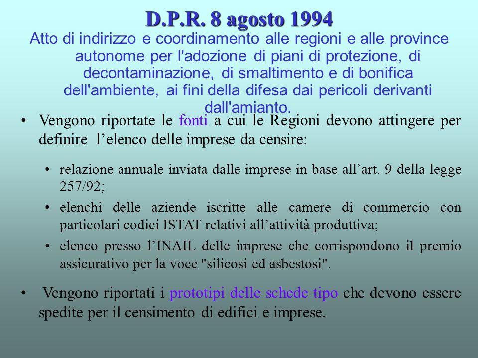 D.P.R. 8 agosto 1994