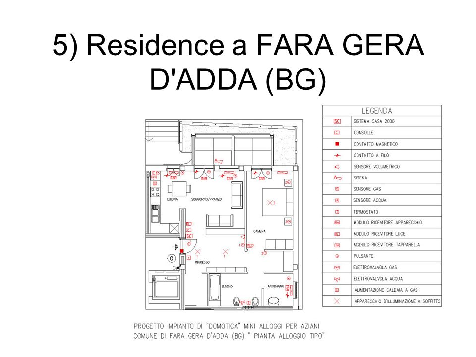 5) Residence a FARA GERA D ADDA (BG)