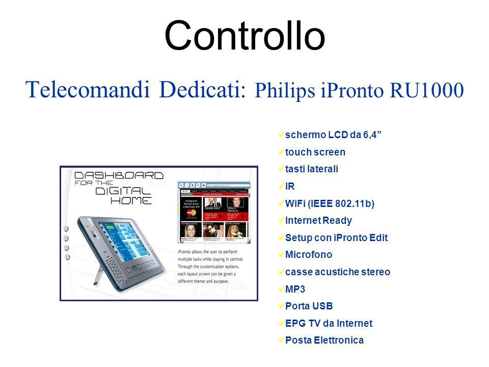 Telecomandi Dedicati: Philips iPronto RU1000