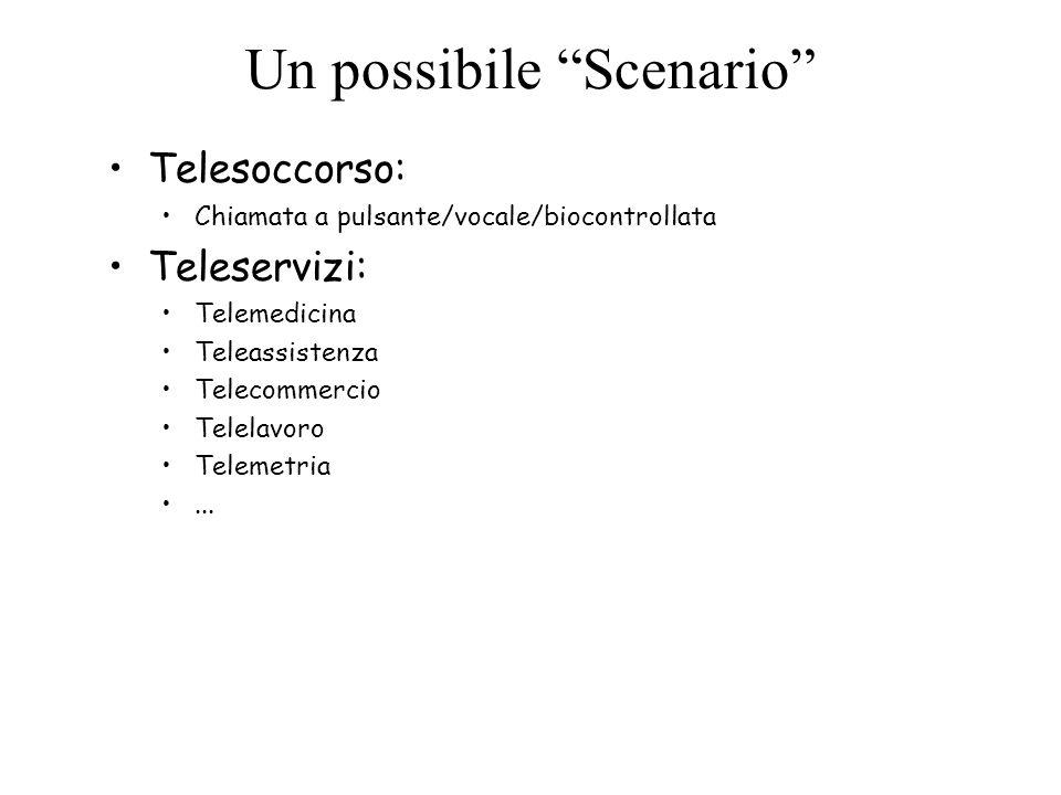 Un possibile Scenario