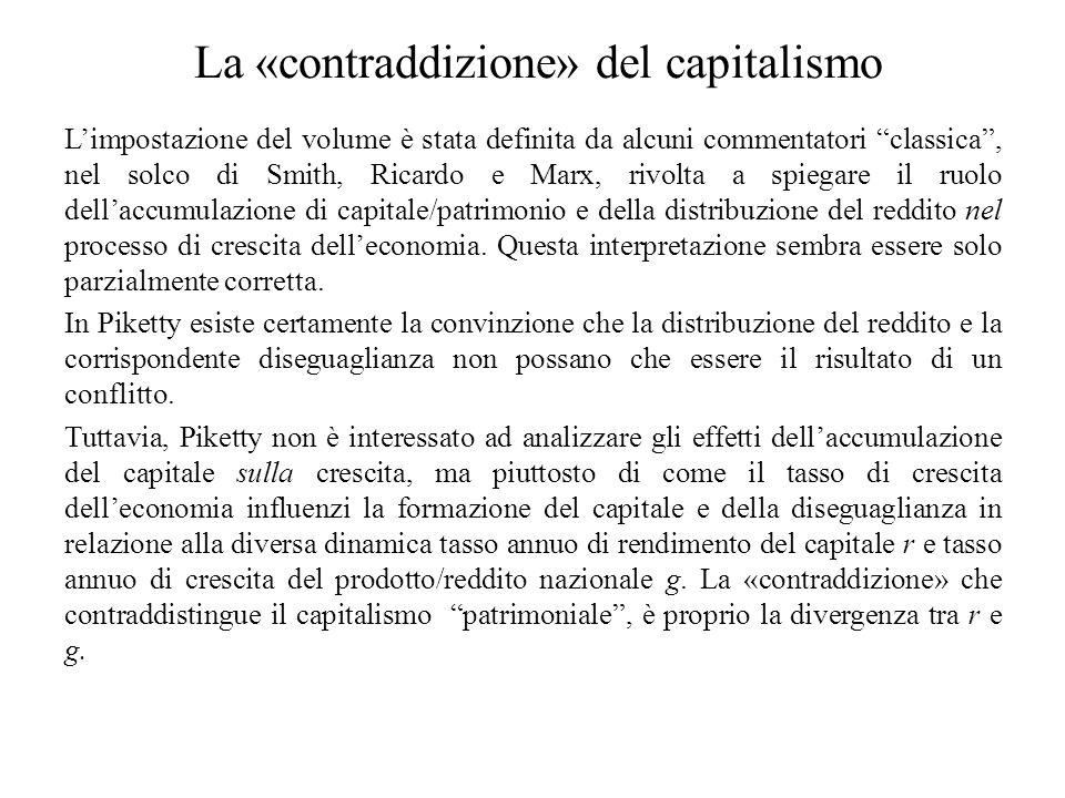 La «contraddizione» del capitalismo