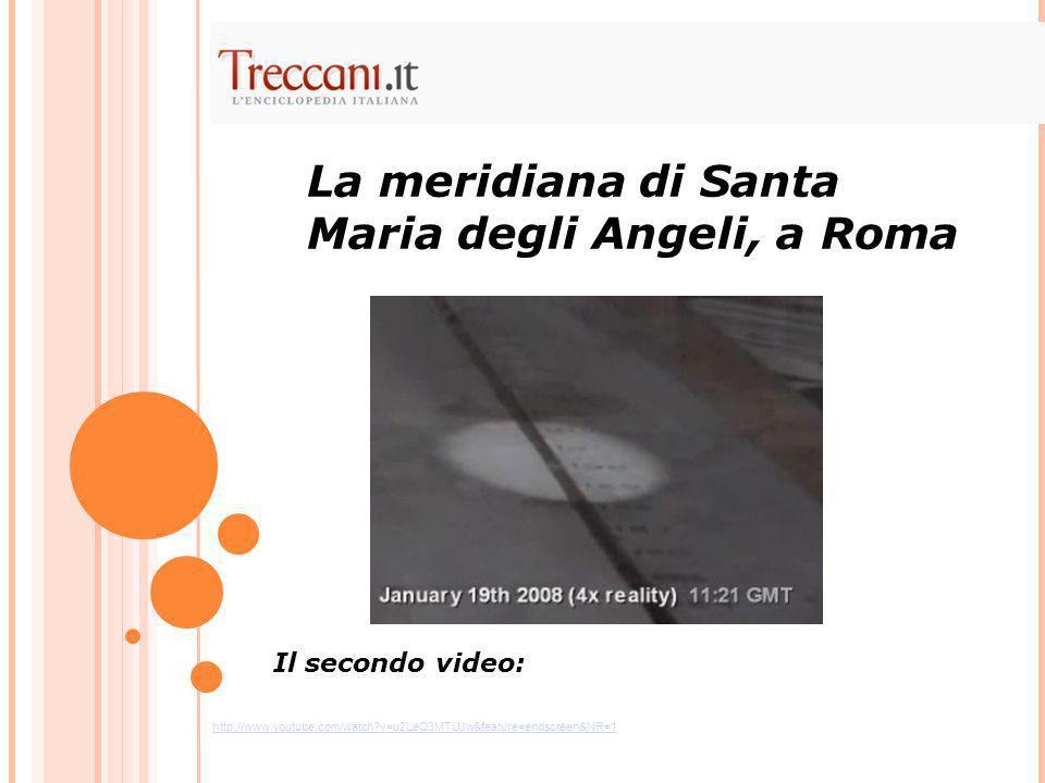 La meridiana di Santa Maria degli Angeli, a Roma