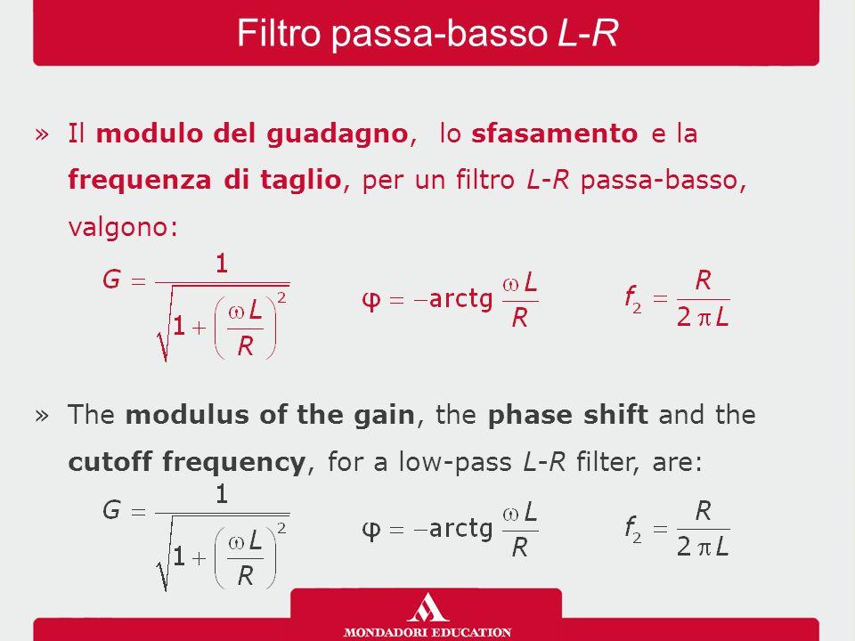 Filtro passa-basso L-R