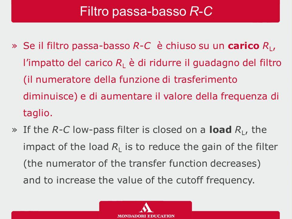 Filtro passa-basso R-C