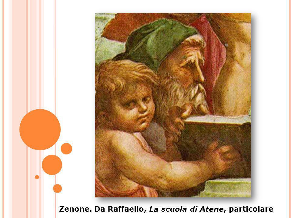 Zenone. Da Raffaello, La scuola di Atene, particolare