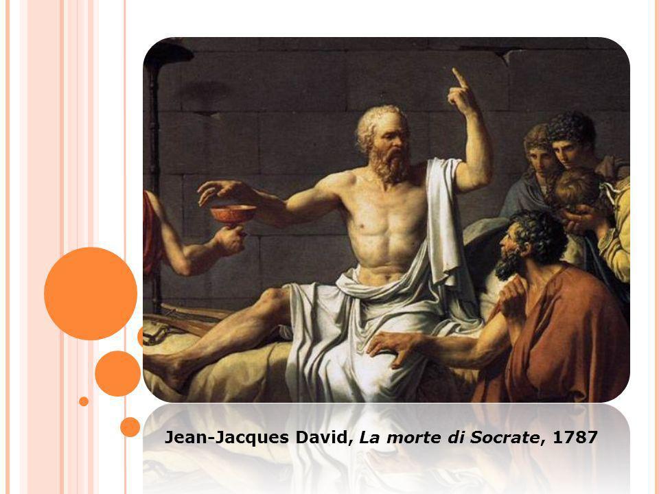 Jean-Jacques David, La morte di Socrate, 1787