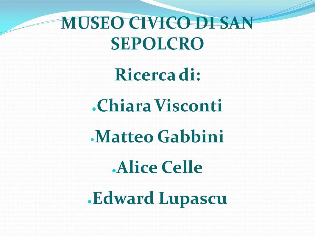 MUSEO CIVICO DI SAN SEPOLCRO