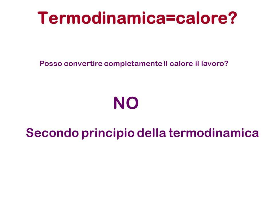 Termodinamica=calore