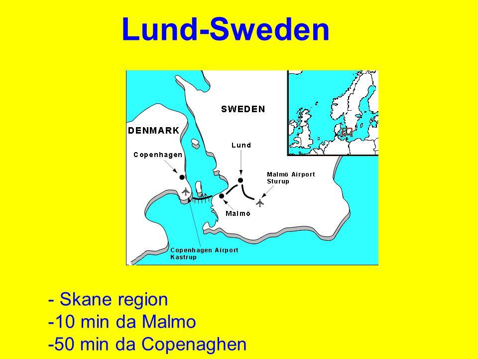 Lund-Sweden Skane region 10 min da Malmo -50 min da Copenaghen
