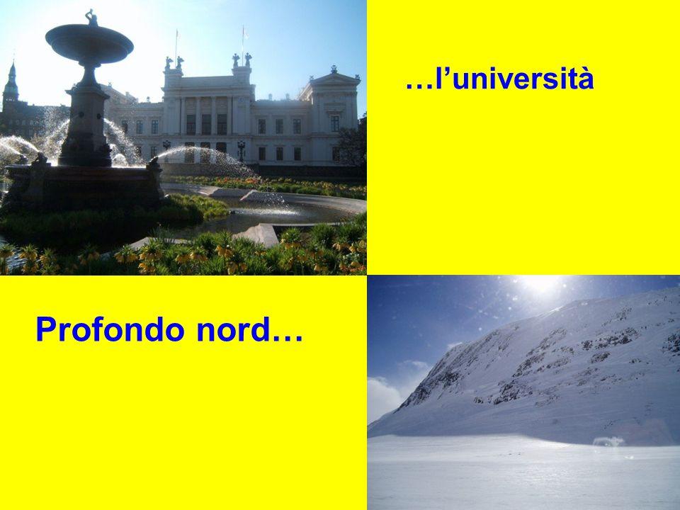 …l'università Profondo nord…