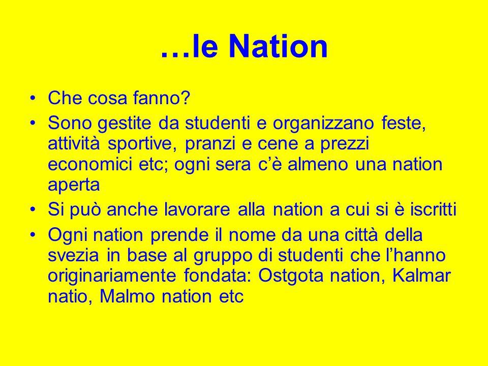 …le Nation Che cosa fanno