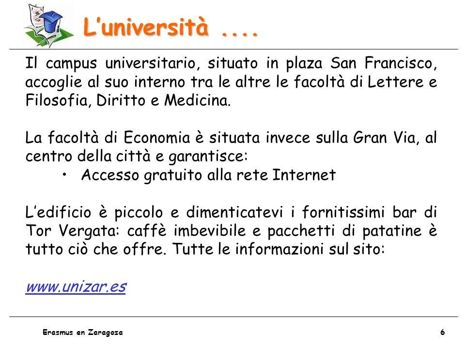 L'università ....