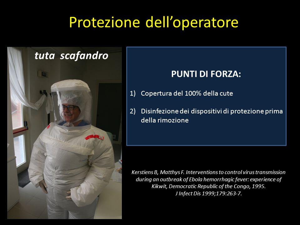 Protezione dell'operatore
