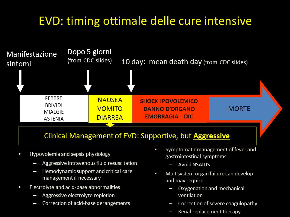 Clinical Management of EVD: Supportive, but Aggressive