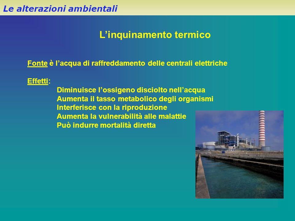 L'inquinamento termico