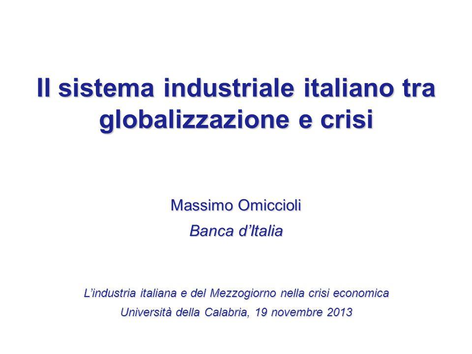 Il sistema industriale italiano tra globalizzazione e crisi