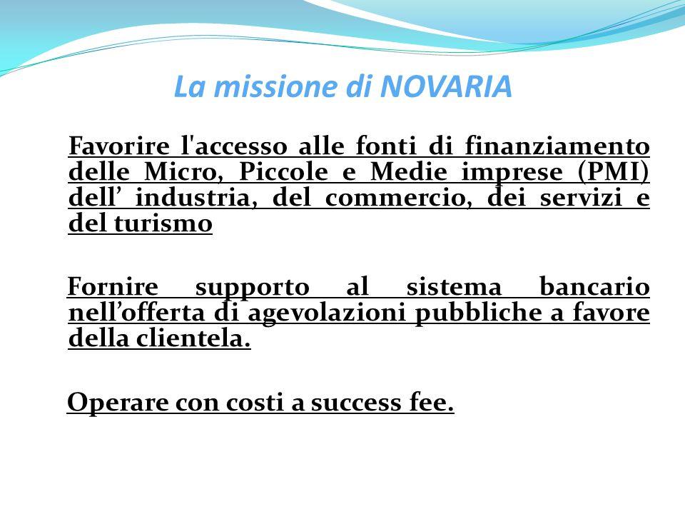 La missione di NOVARIA