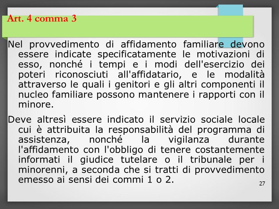 Art. 4 comma 3