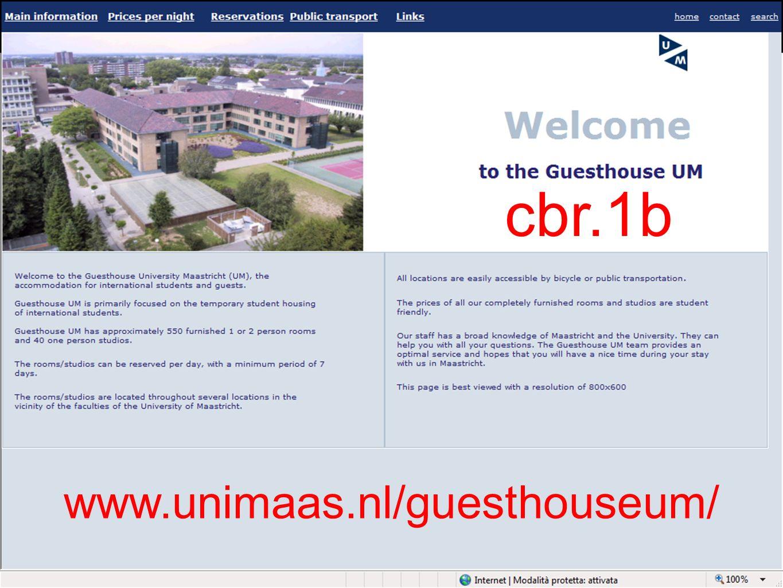 cbr.1b www.unimaas.nl/guesthouseum/