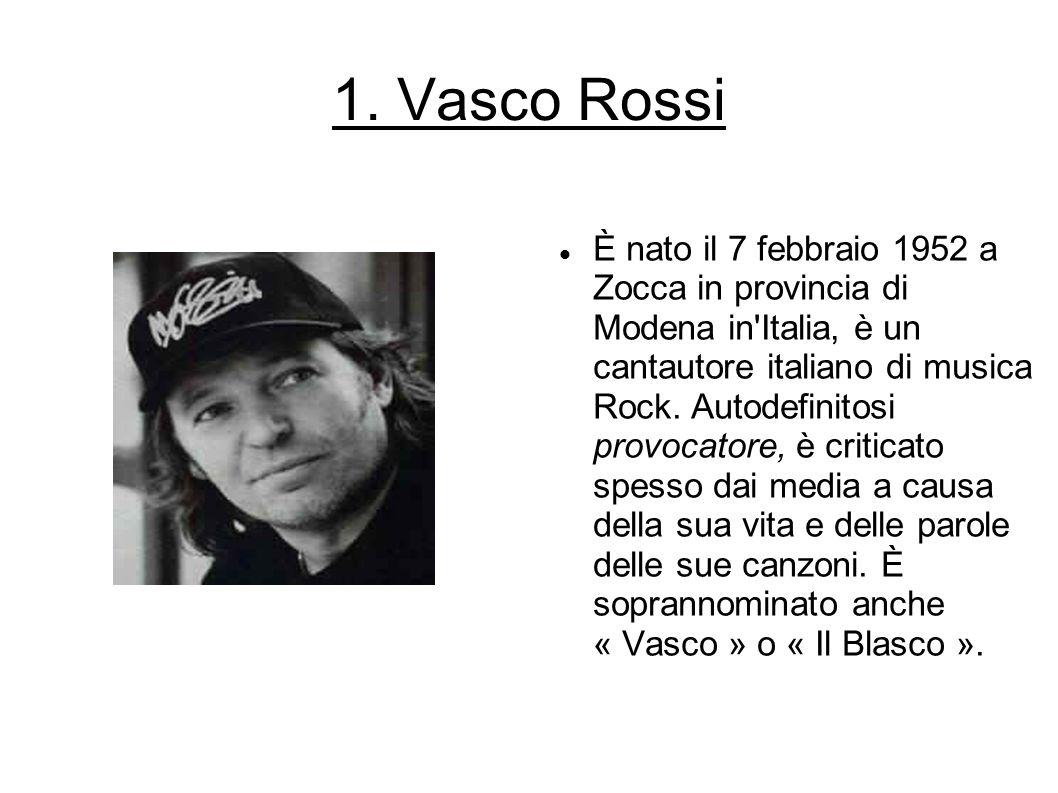 1. Vasco Rossi