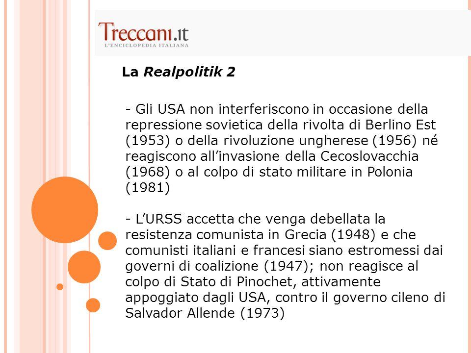 La Realpolitik 2
