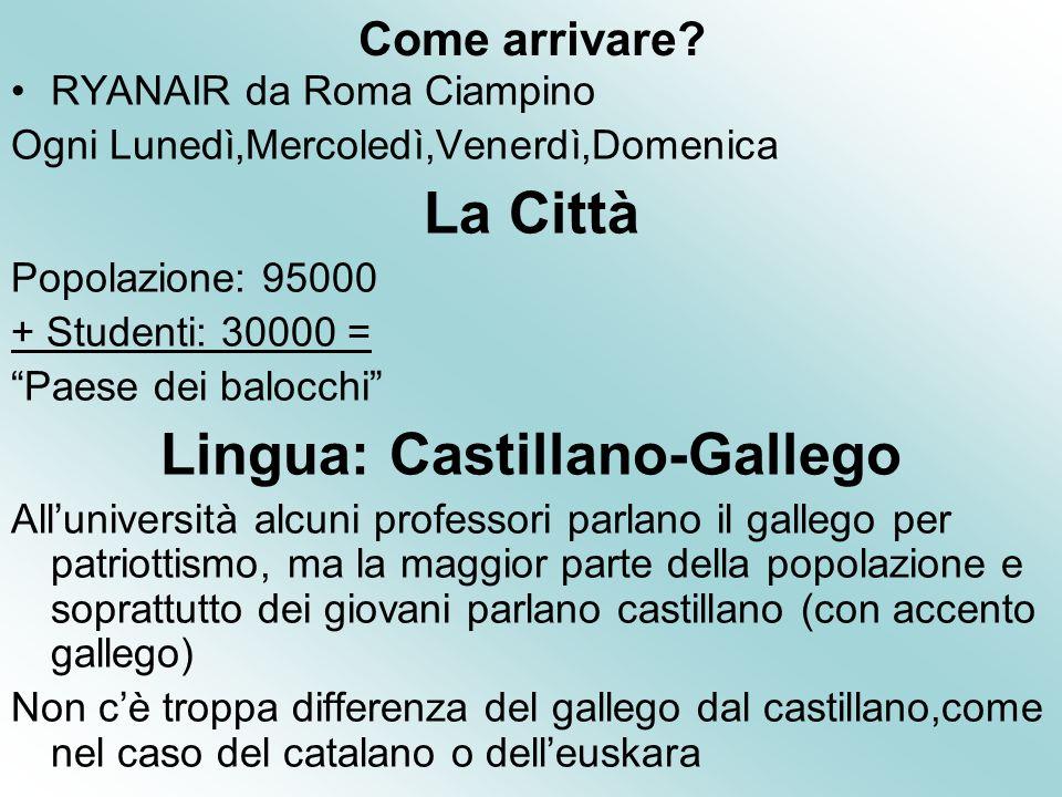 Lingua: Castillano-Gallego
