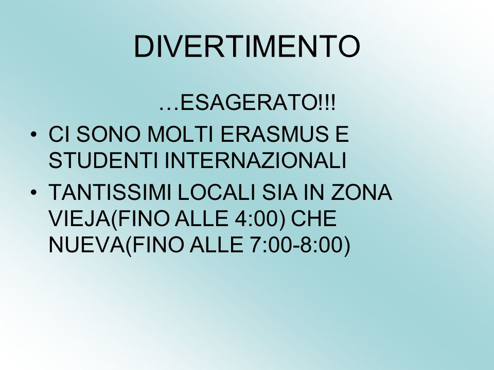 DIVERTIMENTO …ESAGERATO!!!