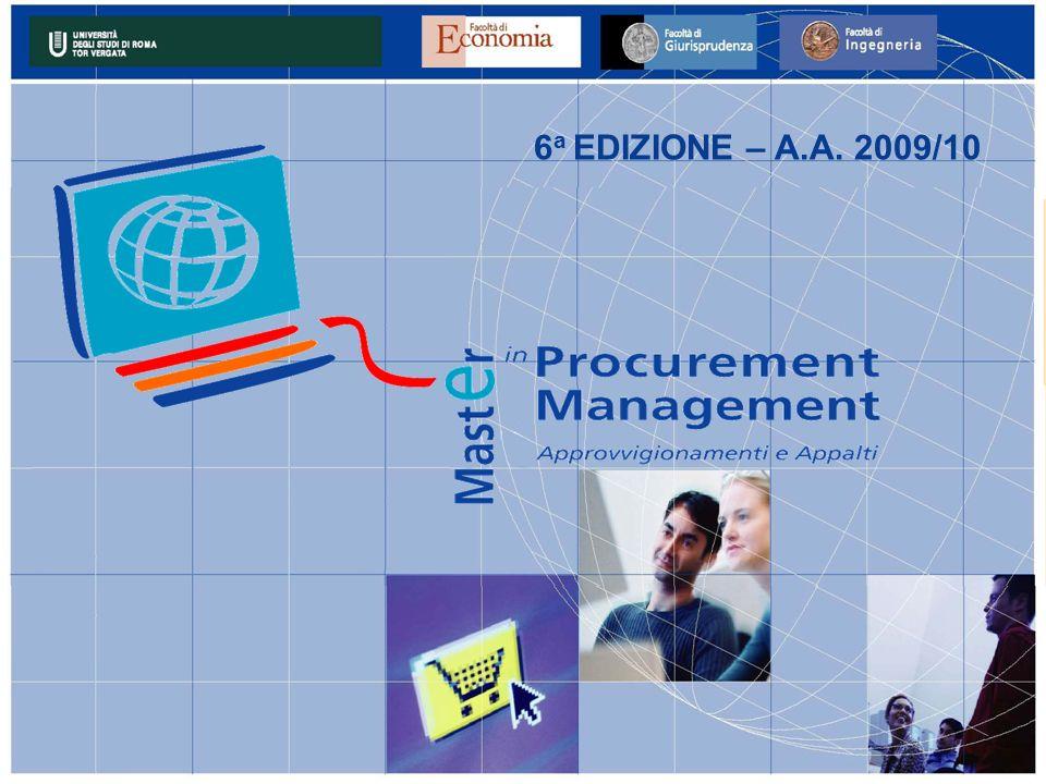 6a EDIZIONE – A.A. 2009/10