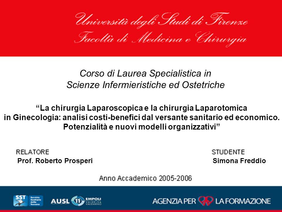 Corso di Laurea Specialistica in