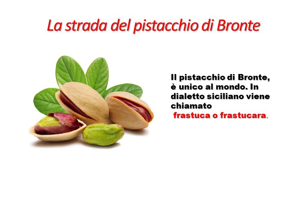 La strada del pistacchio di Bronte