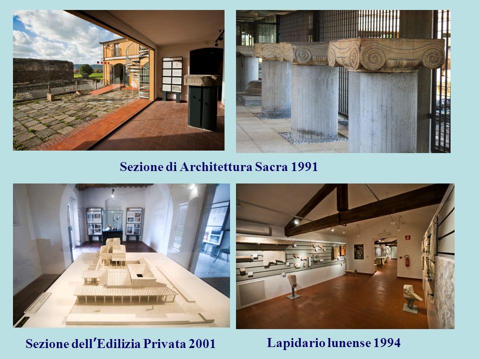 Sezione di Architettura Sacra 1991