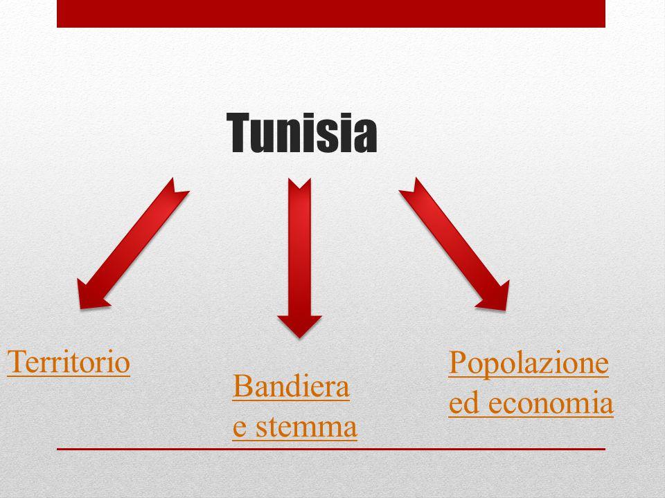 Tunisia Territorio Popolazione ed economia Bandiera e stemma