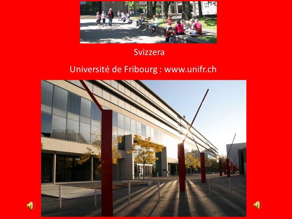 Université de Fribourg : www.unifr.ch