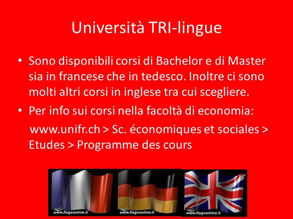 Università TRI-lingue