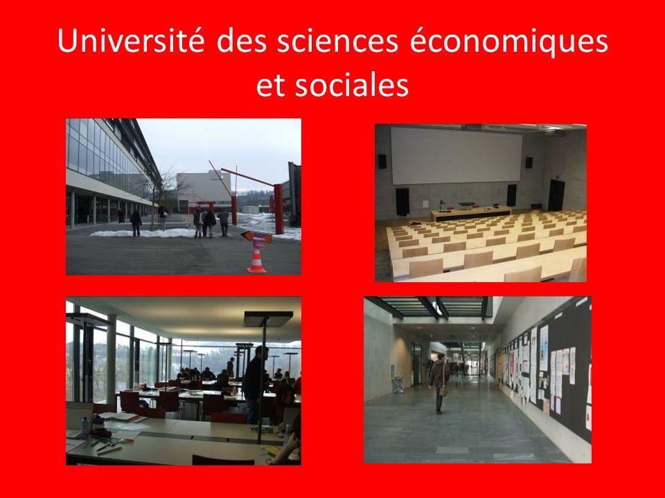 Université des sciences économiques et sociales