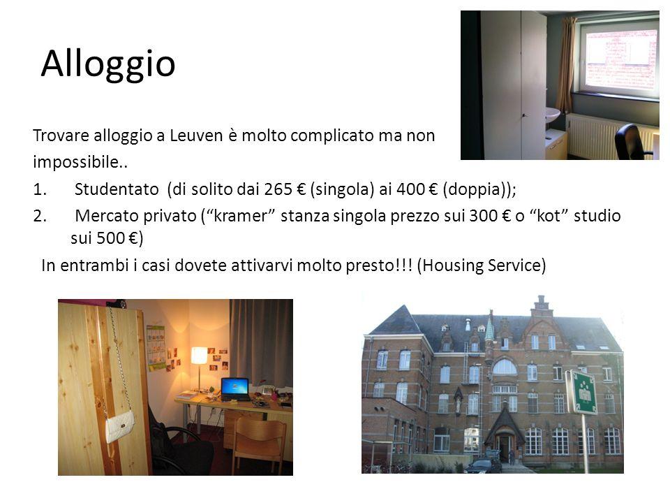 Alloggio Trovare alloggio a Leuven è molto complicato ma non