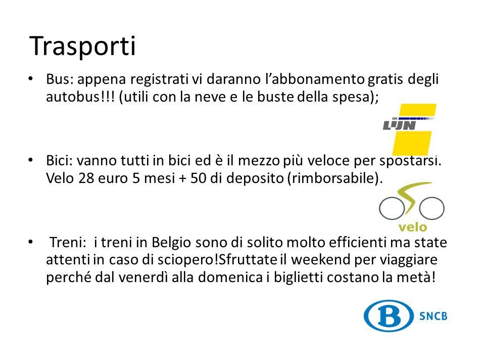 Trasporti Bus: appena registrati vi daranno l'abbonamento gratis degli autobus!!! (utili con la neve e le buste della spesa);